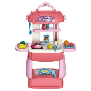Toys for Kids Play Kitchen Pretend Kitchen Playset Toddler Toy Wholesale